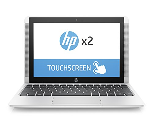 HP Pc x2 10-p030nl Notebook Convertibile da 10.1', x5-Z8350, eMMC da 128 MB, RAM 4 GB, Scheda Grafica Intel HD 400, Bianco