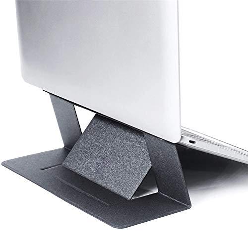 WOYAOY Laptopständer Halterung Eingebaute, Faltbare Beine und Handyhalterung, 8-Fach höhenverstellbare Laptophalterung,Tragbare Belüftung Ergonomische Notebook Unterstütung für Tablet/MacBook