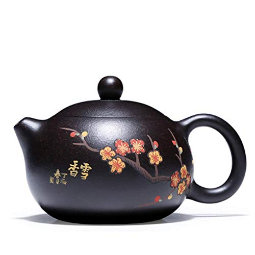 TOSISZ theepot Yixing Puro uit Mano XI Shi voor Famoso thee Zisha Mineral XI Shi theepot zeldzame theepot van zand zwart