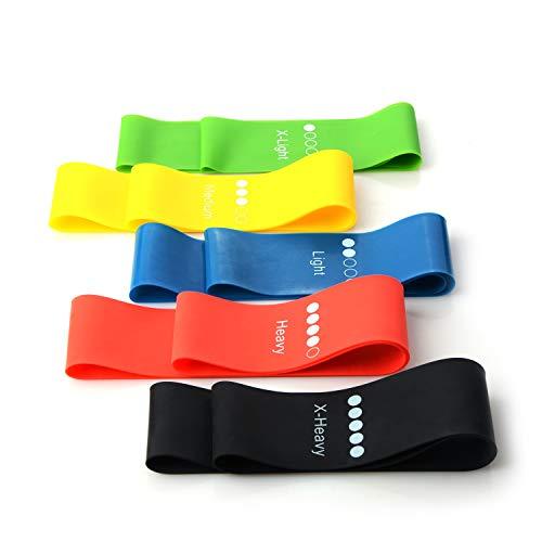 Fluu yoga-riem, elastisch, 5 kleuren ter vergelijking met 5 maten, selecteer de maattabel, geschikt voor volwassenen