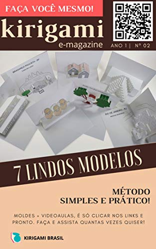 Kirigami - Revista digital nº 002 (Origami arquitetônico Livro 2) (Portuguese Edition)