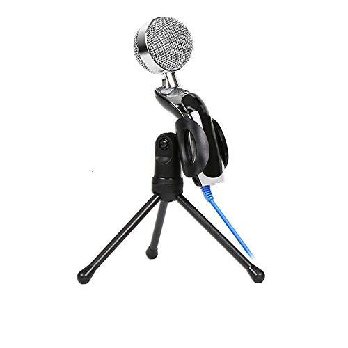 Mikrofon Yuan Ou Professioneller Sound USB-Kondensatormikrofon Podcast Studio Für PC Laptop Chatten Audioaufnahme Kondensator KTV Mikrofon Schwarz