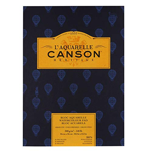 Canson Cold Press Heritage, White