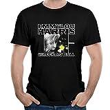 Photo de HAIZHENY Homme Emmylou Harris Wrecking Ball Cotton Manches Courtes/T-Shirt Tee XX-Large par