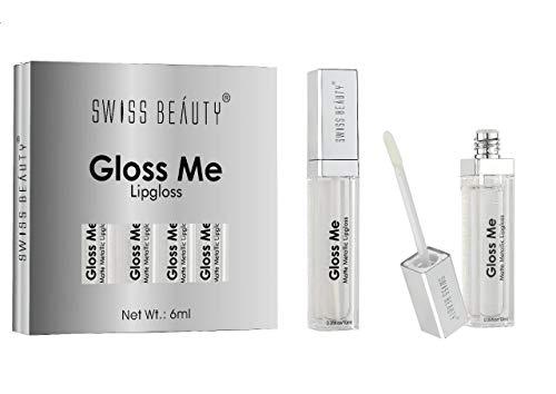 Swiss Beauty Gloss Me Transparent Color Supreme Shine Lip Gloss ~ 10ml