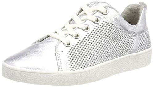 Richter Kinderschuhe Mädchen Rimmel Sneaker, Silber (Silver), 40 EU