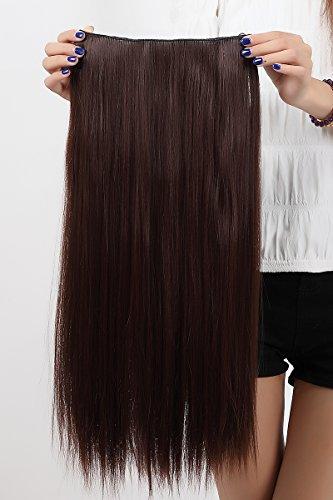 X 30 Extension de Cheveux Clips Pour Perruque Weft 28mm 2,8 cm noir