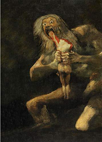 Saturno Devorando A Su Hijo Cuadros De Francisco Goya Poster