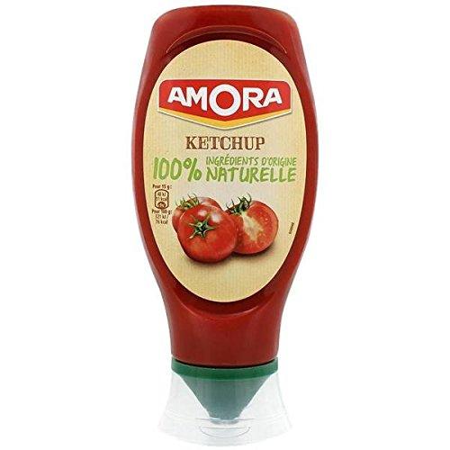 Amora ketchup naturale 469g - ( Prezzo unitario ) - Amora ketchup naturel 469g