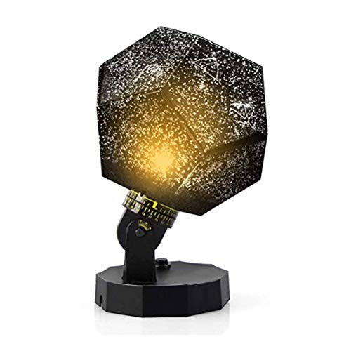 Hihey sterrenhemel projector LED-lampen 6 lichtmodi en 2 energievoorziening (USB/batterij aangedreven), Night Light