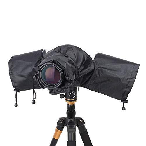 Linghuang Coperture Parapioggia Professionale Impermeabile per Canon Nikon Pentax DSLR Camera Lens Hood Fotografia SLR Camera Rain Cover