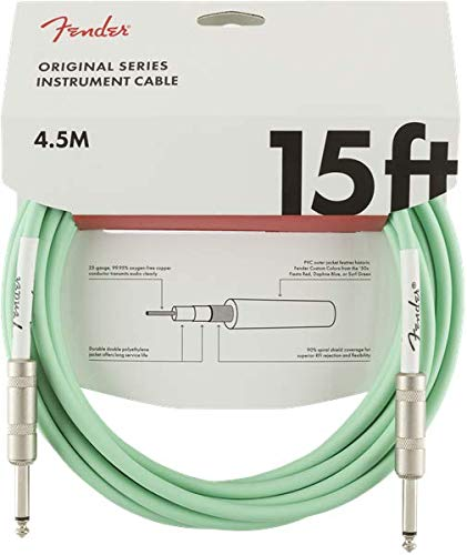Fender Kabel Original Series, 4,5m surf green