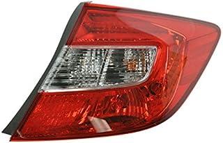 Taillight Taillamp Brake Light Passenger Side Right RH...
