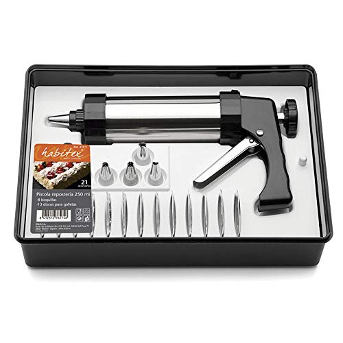 Juego Pistola reposteria c/acces.habitex