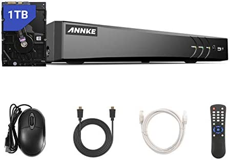 ANNKE 8 Channel 4K Security Video DVR Recorder 5 in 1 H 265 Hybrid DVR with 1TB Hard Drive Supports product image