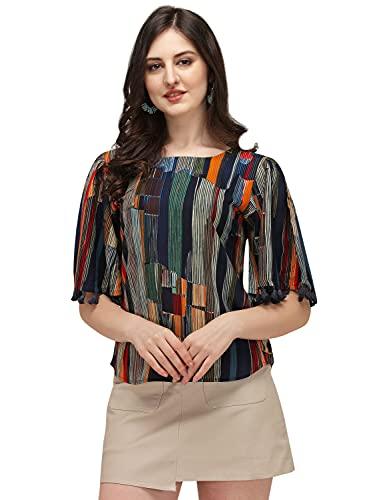 DHRUVI TRENDZ Women's Regular Fit T-Shirt