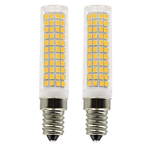 E14 LED Lampe 8W Ersetzt 80W 90W 100W Warmweiß 3000K 220V 230V 880Lm Schlafzimmer Wandleuchte Wohnzimmer Kronleuchter Klein Leuchtmittel 2er Pack [MEHRWEG]