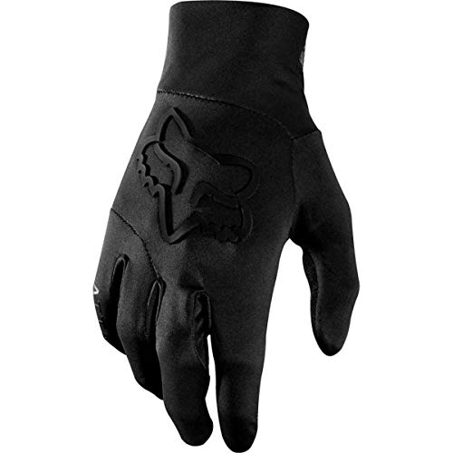 Fox Guantes Attack Water Black/Black, tamaño M