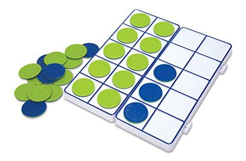 Plateaux de dix cases raccordables de Learning Resources