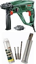 Bosch PBH 2100 SER - Taladro percutor + Bosch - Conjunto de 5 cinceles y brocas SDS-plus
