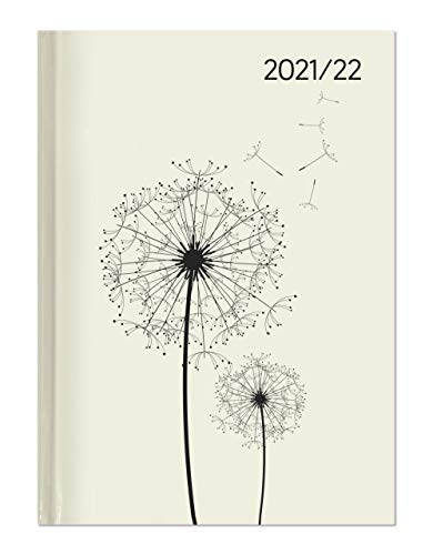 Campustimer Blowballs - A6 Semester-Planer - Studenten-Kalender 2021/2022 - Notiz-Buch - Weekly - Pusteblume - Alpha Edition