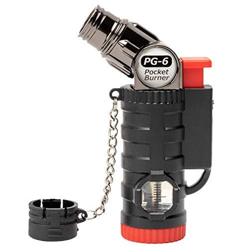 ペンギンライター ガスバーナー ポケットバーナー 4段階 可変タイプ ガス 注入式 PG-6