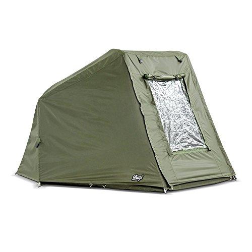Lucx® Winterskin Überwurf Overwrap Skin für Wiesel Angelzelt Karpfenzelt Carp Dome (Kein Zelt nur Überwurf)