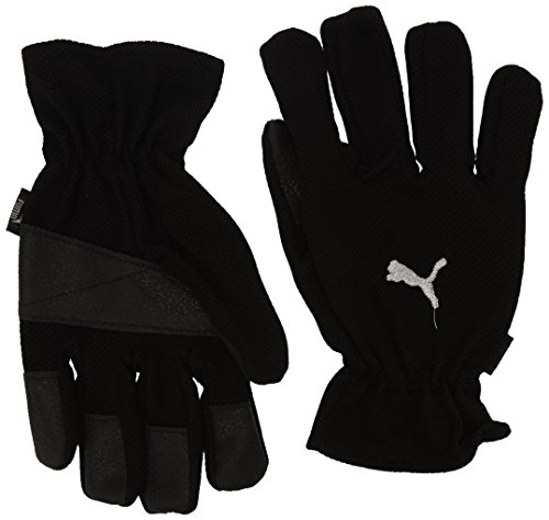 PUMA Winter Players Guantes, Sin género, Black/White, 9