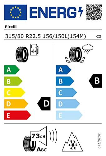 PIRELLI TR01T 315/80R225 156/150L - D, B, 1, 73dB