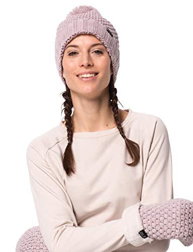 Jack Wolfskin Damen HIGHLOFT Knit Cap Women Mütze, Violet Pearl, M