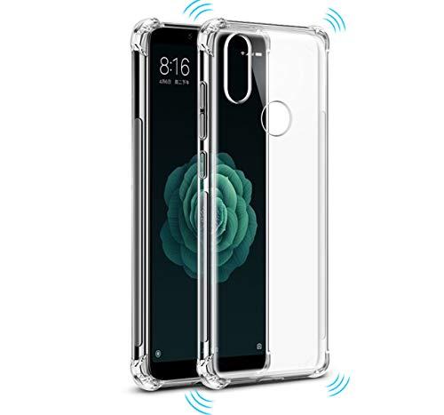 Tumundosmartphone Funda Gel TPU Anti-Shock Transparente para XIAOMI MI 6X / MI A2
