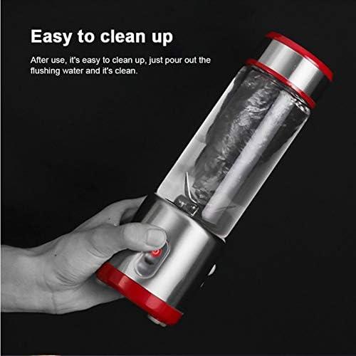 ECSWP USB Mini Electric Juice portátil recargable Batidora Exprimidor de limón Copa de frutas de naranja Extractor (Color : B) B