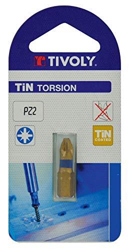 TIVOLY 11522220300 - Broca de atornillado para tornillos Pozidriv Pz3