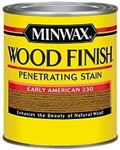 Minwax 70008444 Wood Finish Penetrating  Stain, quart, Early American