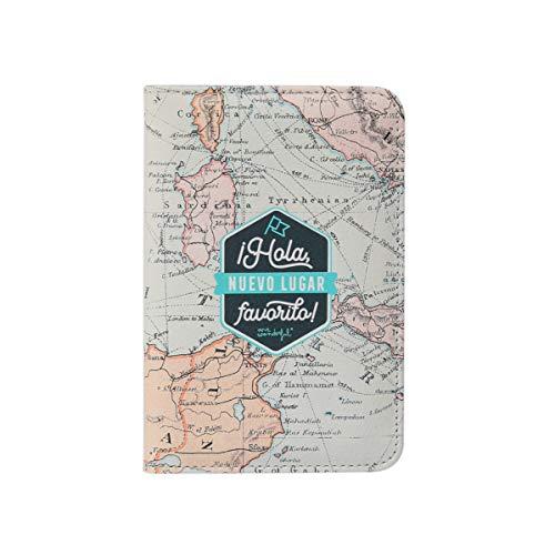Mr. Wonderful Custodia per passaporto – Ciao nuovo posto preferito!