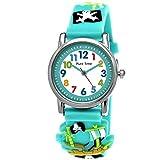 Tiempo Puro Hijos de Reloj de Pulsera Pirata Reloj Pulsera de Silicona niños niñas niños Reloj en...