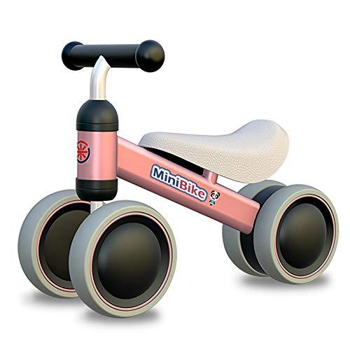XIAPIA Bicicletta Senza Pedali Bici Senza Pedali per Bambini 1-2 Anni (10-24 Mesi) Camminatore dei Bambini Triciclo Giocattoli per 1 Anno Bambino Bicicletta Equilibrio Bambino