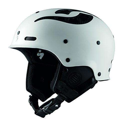 Sweet Protection Unisex– Erwachsene Grimnir II MIPS TE Helmet Ski/Snowboard, Satin White, ML
