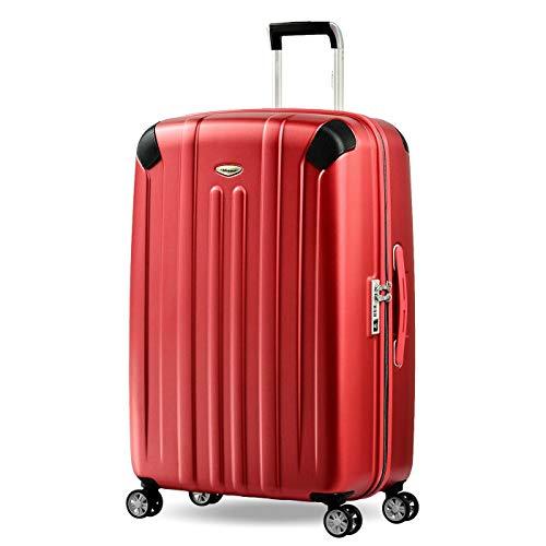 Eminent Koffer Boulder L 77cm 103L super leicht extra Eckenschutz Anti-Kratz-Hartschale 4 Doppelrollen 360° Hartschalenkoffer Rot