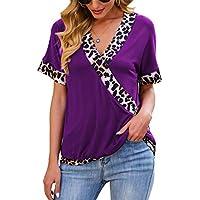 Eanklosco Women's Short Sleeve V-Neck Shirts (various)