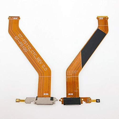 Lysee Mobile Phone Flex Cables - ChengHaoRan 1pcs For Galaxy Tab 2 10.1 GT-P5100 P5110 P5113 Charge Charging Port Dock Connector Flex Cable P5100 P5200 P5210 - (Color: P5100)