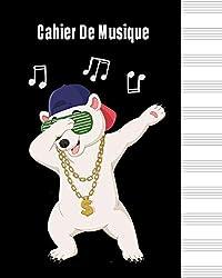 Cahier de Musique: Cahier de partitions - Papier manuscrit - 12 portées par page, 60 pages, 20,32 x 25,4 cm / Piano / Flûte à bec / guitare / violon.