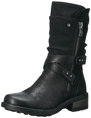 Carlos by Carlos Santana Women's Sawyer Fashion Boot, Black, 6 M M US