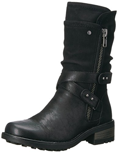 Carlos by Carlos Santana Women's Sawyer Fashion Boot, Black, 6 M M US