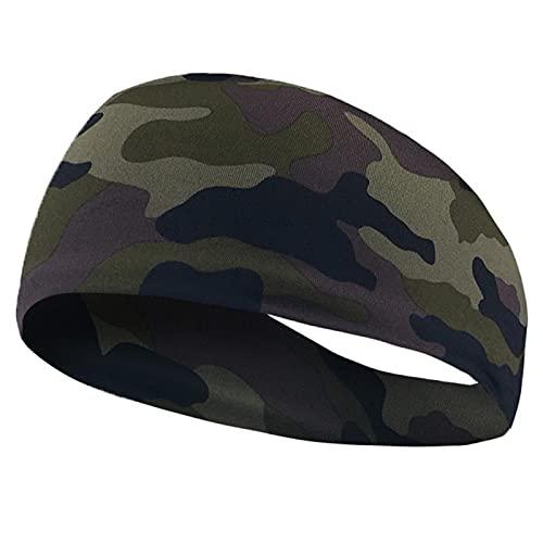 PPLAX Yoga Stirnband Yoga Sport Wide Sweat Hairband Elastische Haarband Kopfbedeckung Armband Yoga Hairband Yoga Zubehör (Color : 04)