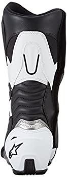 Bottes Moto Alpinestars SMX S Black White, Noir/Blanc, 42