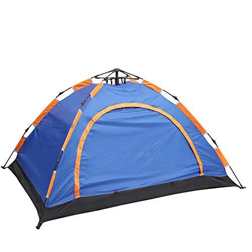 AIBOOSTPRO 2 Personen Doppelte Schichten Zelte Pop Up Wasserdicht für Picknick, Parkcamping und andere Freizeitaktivitäten im Freien