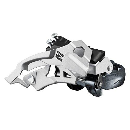 Shimano Alivio FD-M4000 Umwerfer 3x9-fach silber/grau Ausführung 63-66° Kettenstrebenwinkel 2016 Mountainbike