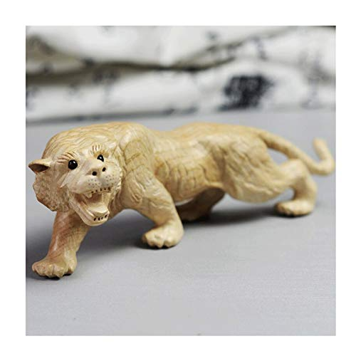 Home Accessories Carved tiger Statue Sculpture Ornament Collectible Figurine Craft Furnishing for Home Décor Living Room Porch Decoration Office Desk Desktop Arrangement Gift Statue of Wealth Statues