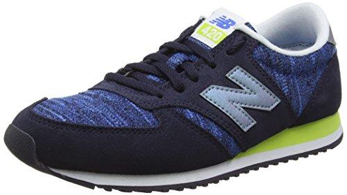 New Balance Women's Training Running Shoes, Multicolor (Blue/Green 458), 37